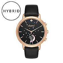 Kate Spade Ladies' Rose Gold Tone Hybrid Smart Watch - Product number 8055092