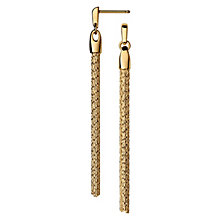 Links of London Essentials Yellow Gold Plated Drop Earrings - Product number 8056188