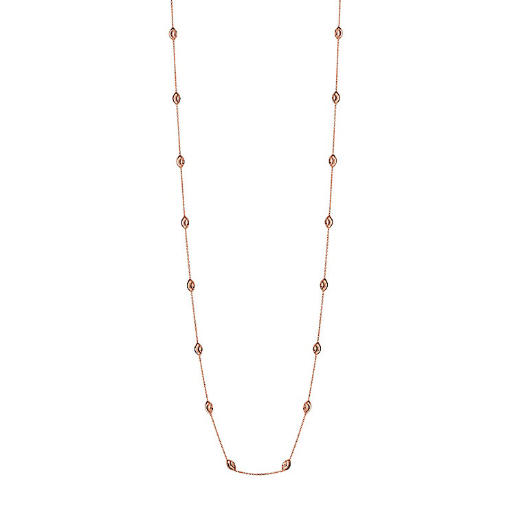 Links of London Essentials Rose Gold Plated Bead Necklace - Product number 8056323