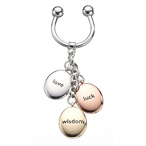 Gaventa three pebble keyring - Product number 8057567