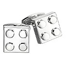 Gaventa polished block cufflinks - Product number 8057877