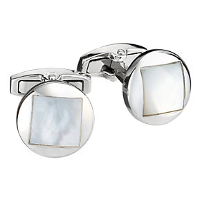 Gaventa round mother of pearl cufflinks - Product number 8057990