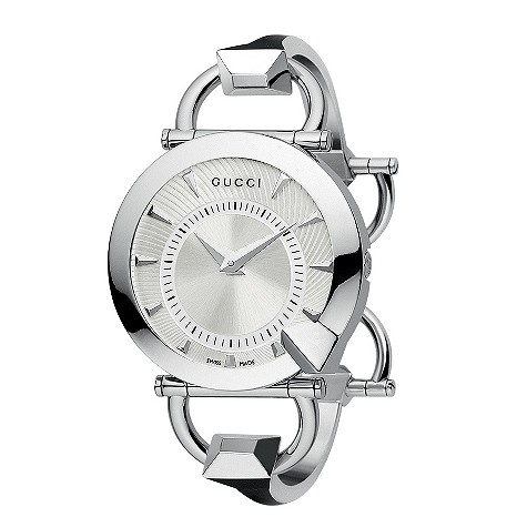 Gucci Chiodo Collection silver dial watch