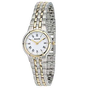 Accurist Ladies' Two Colour Bracelet Watch - Product number 8061475