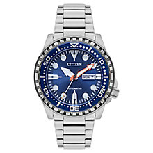 Citizen Men's Stainless Steel Automatic 100M Watch - Product number 8063974