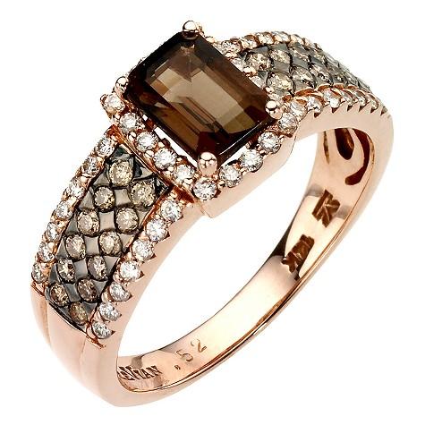 LeVian 14CT Strawberry Gold 0.50CT Diamond