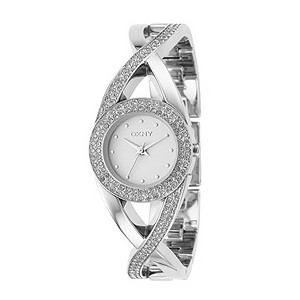 DKNY ladies' stone set bracelet watch - Product number 8068917