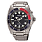Seiko Kinetic Men's Stainless Steel Black Bracelet Watch - Product number 8070296