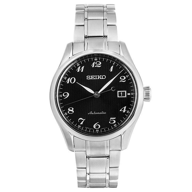 Seiko Presage Men's Stainless Steel Bracelet Watch - Product number 8070423