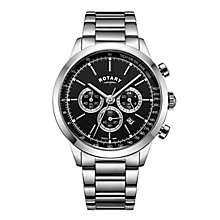 Rotary Cambridge Men's Stainless Steel Chronograph Watch - Product number 8070571