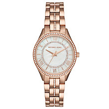 Michael Kors Lauryn Ladies' Rose Gold-Tone Bracelet Watch - Product number 8080518