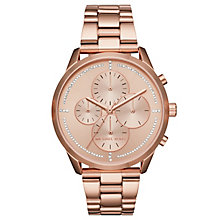 Michael Kors Slater Ladies' Rose Gold Tone Bracelet Watch - Product number 8080534