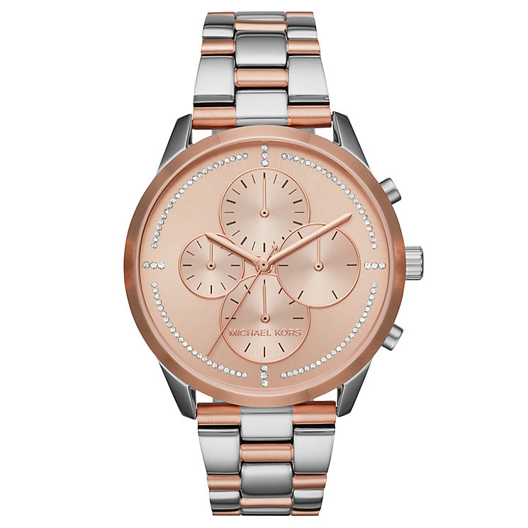 Michael Kors Slater Ladies' 2 Colour Bracelet Watch - Product number 8080542