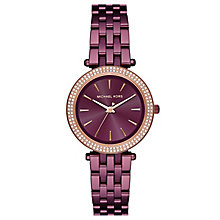 Michael Kors Lauryn Ladies' Ion Plated Bracelet Watch - Product number 8080615