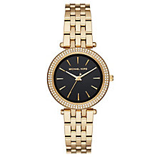 Michael Kors Darci Ladies' Yellow Gold-Tone Bracelet Watch - Product number 8080682