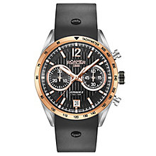 Roamer Men's Black Leather Strap Chronograph Watch - Product number 8081247