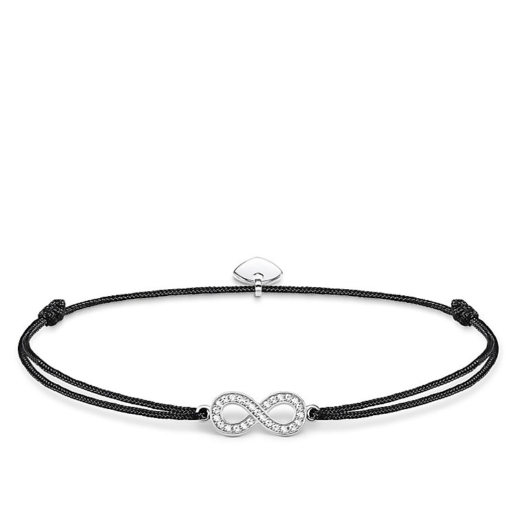 Thomas Sabo Little Secrets Silver Infinity Black Bracelet - Product number 8081697