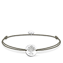 Thomas Sabo Little Secrets Silver Tree of Life Grey Bracelet - Product number 8081743