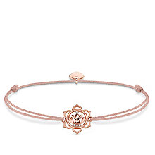 Thomas Sabo Little Secrets Rose Gold-Plated Lotus Bracelet - Product number 8081832