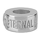 Eternal Silver branded spacer bead - Product number 8083681