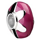 Eternal Silver pink and silver disc bead - Product number 8083878