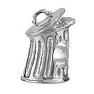Eternal Silver Trash bin bead - Product number 8083886