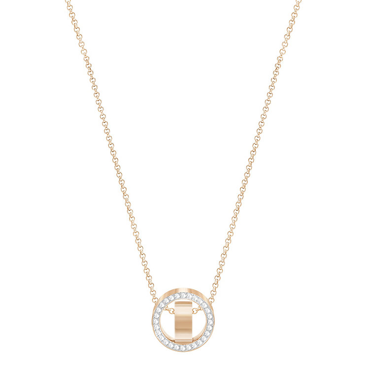Swarovski Rose Gold Plated Hollow Pendant - Product number 8085331