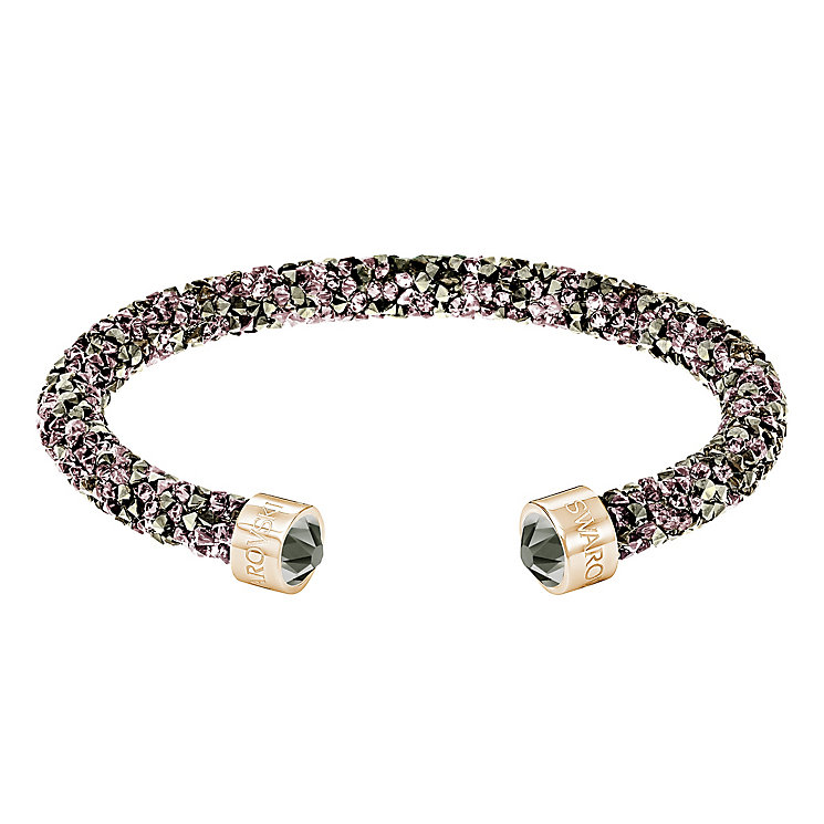 Swarovski Yellow Gold Plated Crystal Dust Bangle - Product number 8085498