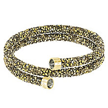 Swarovski Yellow Gold Plated Crystal Dust Bangle - Product number 8085528