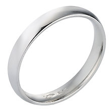 Platinum Extra Heavy Court Ring 3mm - Product number 8088373