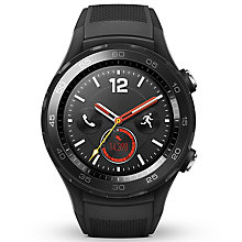 Huawei Watch 2 Bluetooth & 4G Sport Smartwatch - Black - Product number 8089094