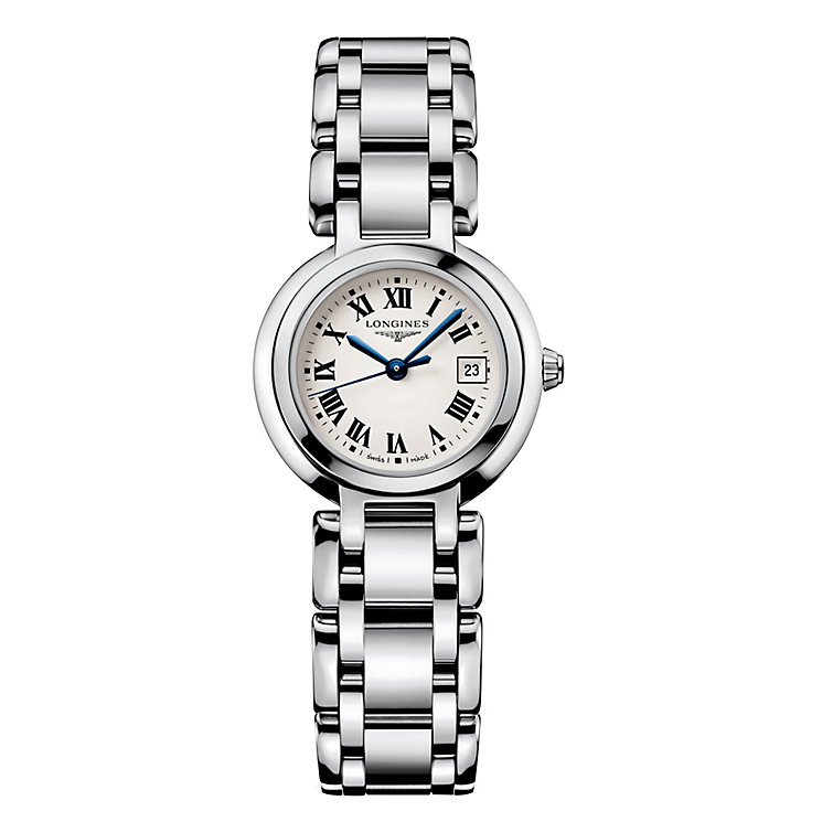 Longines PrimaLuna ladies' stainless steel bracelet watch - Product number 8092605