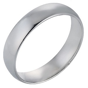 Platinum Extra Heavy Court Ring 5mm