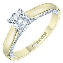 18ct Yellow Gold 1ct Forever Diamond Ring - Product number 8103690