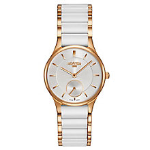Roamer Ladies' White Ceramic Bracelet Watch - Product number 8108811
