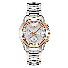 Roamer Ladies' Two Colour Chronograph Bracelet Watch - Product number 8108838