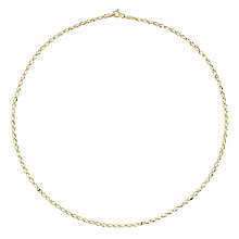9ct Yellow Gold Lightweight Chain Necklace - Product number 8109036