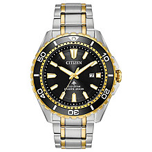 Citizen Men's Eco Drive Two Colour Promaster Diver Watch - Product number 8117209
