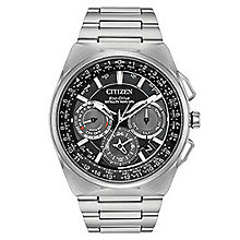 Citizen Men's Eco Drive Satellite Stainless Steel Watch - Product number 8117241