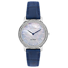 Citizen Ladies' Eco Drive Swarovski Stainless Steel Watch - Product number 8117349