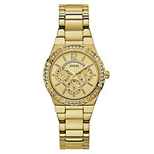 Guess Ladies' Gold Tone Bracelet Watch - Product number 8119384