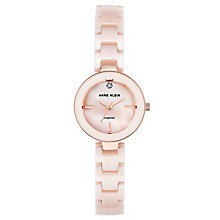 Anne Klein Ladies' Pink Ceramic Bracelet Watch - Product number 8119716