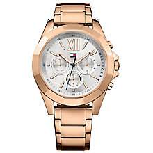 Tommy Hilfiger Ladies' Rose Gold IP Bracelet Watch - Product number 8120056