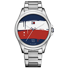 Tommy Hilfiger Men's Steel Bracelet Hybrid Smartwatch - Product number 8120196