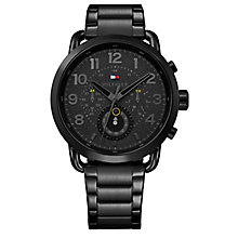 Tommy Hilfiger Men's Black IP Bracelet Watch - Product number 8120250