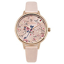 Cath Kidston Ladies' Pink PU Strap Watch - Product number 8120366