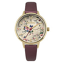 Cath Kidston Ladies' Red PU Strap Watch - Product number 8120374