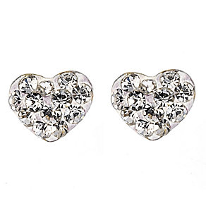 9ct Yellow Gold Love Heart Earrings - Product number 8124051