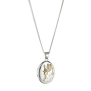 Sterling Silver 9ct Yellow Gold Fairy Locket