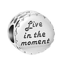 Chamilia Sterling Silver Live in the Moment Bead - Product number 8128022